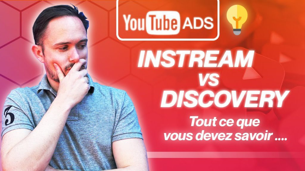 instream VS discovery - format publicitaires youtube ads
